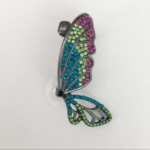 "Betsey Johnson ""You Give Me Butterflies"" Ear Cuff"